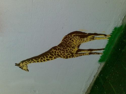 Graffitti_giraffe